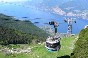 Seilbahn zum Monte Baldo
