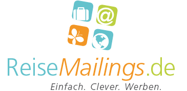 ReiseMailings.de | E-Mail-Marketing Logo